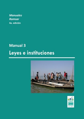 Leyes e instituciones - Ramsar Convention on Wetlands