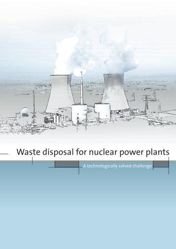 Waste disposal for nuclear power plants - VGB PowerTech