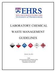 laboratory chemical waste management guidelines - Environmental ...