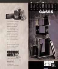 Rackmount brochure - Cabbage Cases