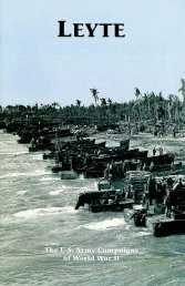 Leyte - US Army Center Of Military History
