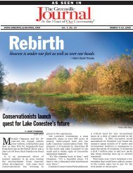 Conservationists launch quest for Lake ... - Upstate Forever