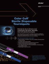 Color Cuff® Sterile Disposable Tourniquets - Stryker
