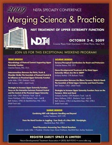 OCTOBER 2-4, 2009 - NDTA
