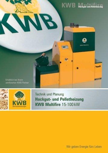 KWB Multifire Einbaubeispiel - Jenni Energietechnik AG