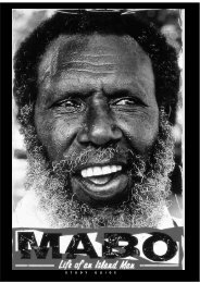 Mabo Study Guide - Curriculum Support