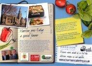 Download Harrison Catering Latest Menu Leaflet
