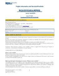 Mutui Ipotecari a Imprese a tasso variabile con - Banca Popolare del ...