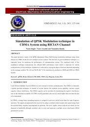 Simulation of QPSK Modulation technique in CDMA System - vsrd ...