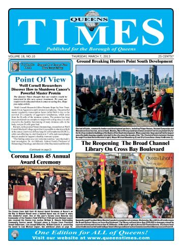 Point Of View - Queens Times