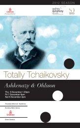 Totally Tchaikovsky - Sydney Symphony Orchestra