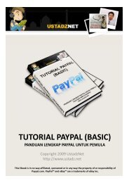 Tutorial Paypal Lengkap untuk Pemula