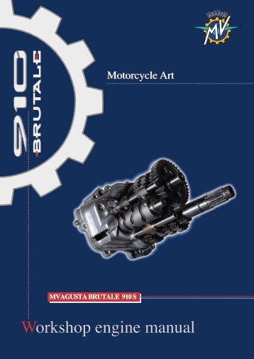 Workshop engine manual