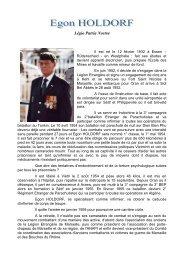Légionnaire Egon HOLDORF - Monsieur-legionnaire.org