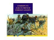 comdipunt: zara's french foreign legion - IESE Business School
