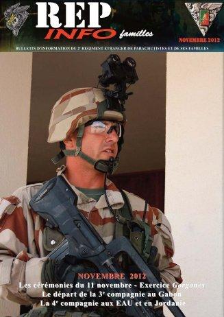 REP INFO novembre 2012 - 2e Régiment étranger de parachutistes ...