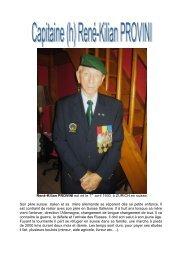 René PROVINI - Monsieur Légionnaire
