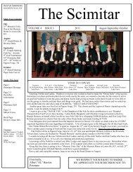 The Scimitar - Aug-Oct 2011 Edition - Rizpah Shriners