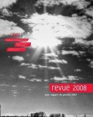 avec rapport de gestion 2007 - Sanu