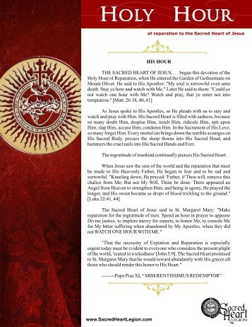 Download the Holy Hour PDF