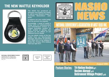 National servicemen's assoc - Nasho Front Page