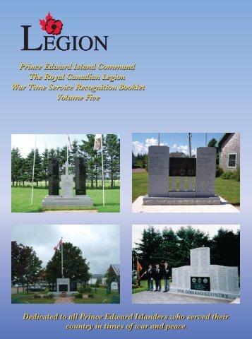 LEGION LEGION - Prince Edward Island Command
