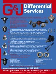 G&JDifferential Services