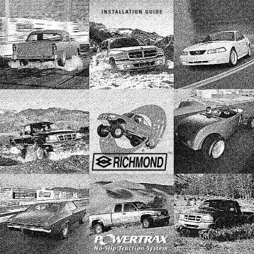 POWERTRAX - Richmond Gear