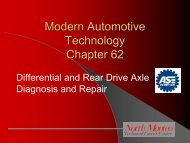 Differential and Rear Drive Axle Diagnosis and Repair