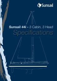Sunsail 44i - 3 Cabin, 3 Head