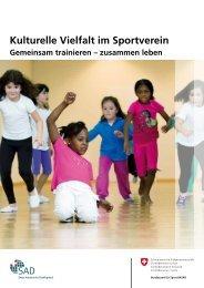Kulturelle Vielfalt im Sportverein - Integration im Kanton St.Gallen