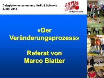 Referat Marco Blatter