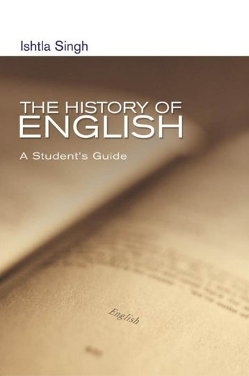 The History of English: A Student's Guide