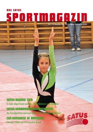 VEREINSNACHRICHTEN - SATUS - der Sportverband