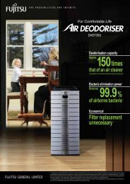 air deodoriser - dasy30s - fujitsu general