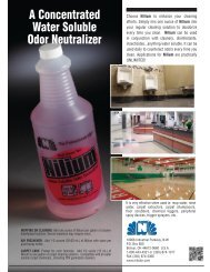 A Concentrated Water Soluble Odor Neutralizer - Nilodor