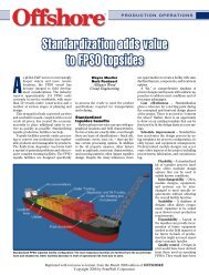 Standardization adds value to FPSO topsides - Alliance Wood ...