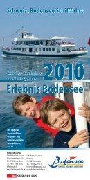 Erlebnis Bodensee - Schweizerische Bodensee ...