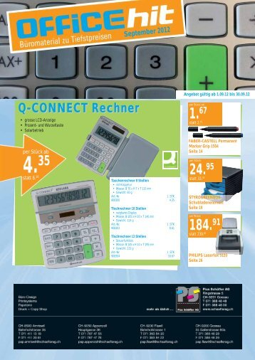 Q-CONNECT Rechner - Home