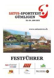 Es gfröits Fescht! - SATUS - der Sportverband