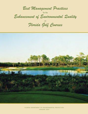 Best Management Practices for Enhancement - Florida Department ...