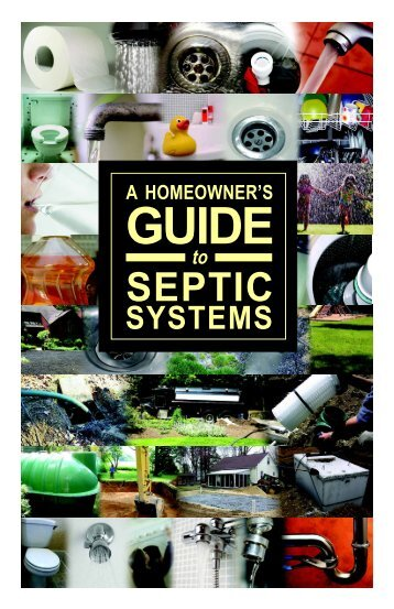A Homeowner's Guide to Septic Systems - State of New Jersey