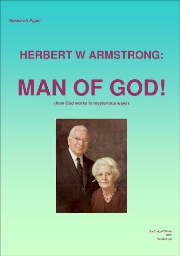 HERBERT W ARMSTRONG: - Origin of Nations