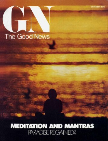 Good News 1976 (Prelim No 12) Dec - Herbert W. Armstrong Library ...