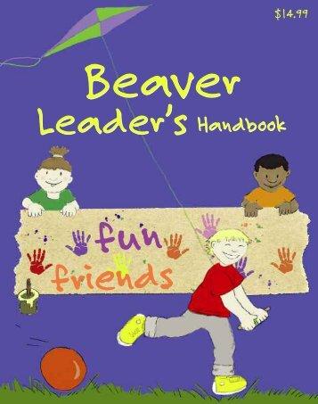 Beaver Leader's Handbook - Scouts Canada
