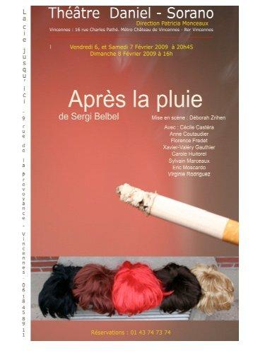 Le dossier du spectacle (pdf) - Espace Daniel Sorano