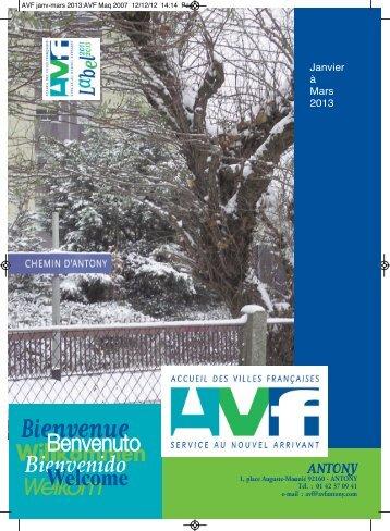 1er trimestre 2013 - AVF Antony