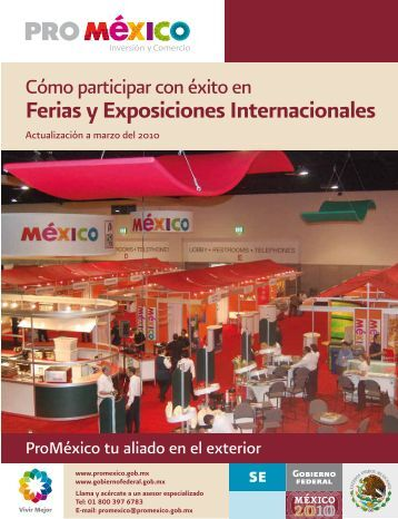 Ferias y Exposiciones Internacionales - ProMéxico