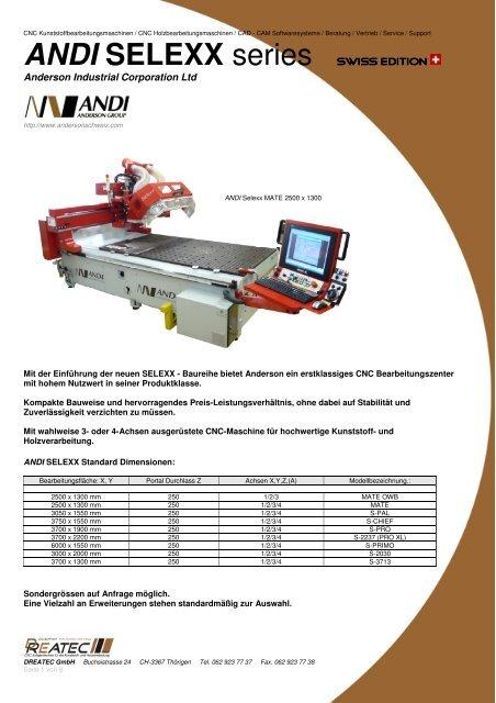SELEXX S-PAL - CNC Kunststoff