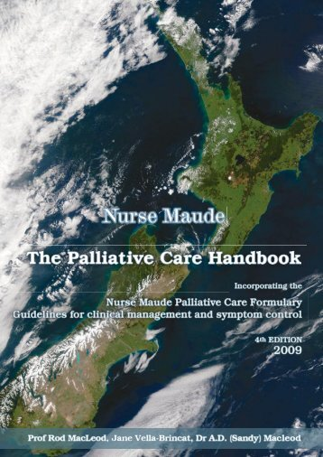 Palliative Care Handbook - General Practice Conference & Medical ...